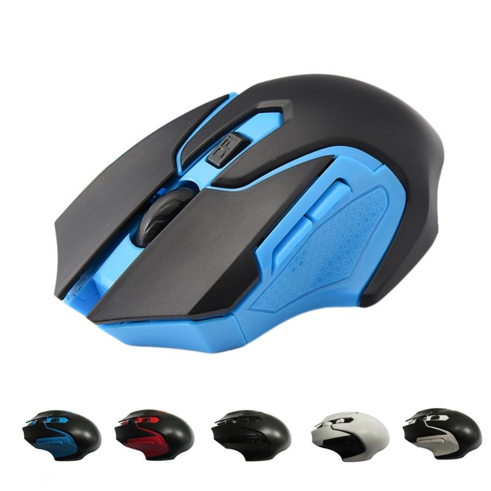 20 pièces/sac 1200 DPI Mini souris sans fil avec récepteur USB pour ordinateurs portables ordinateurs de bureau 2.4G souris de jeu professionnelle