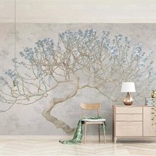 Custom wallpaper murals a blossoming tree floral branches Flower big tree 3d