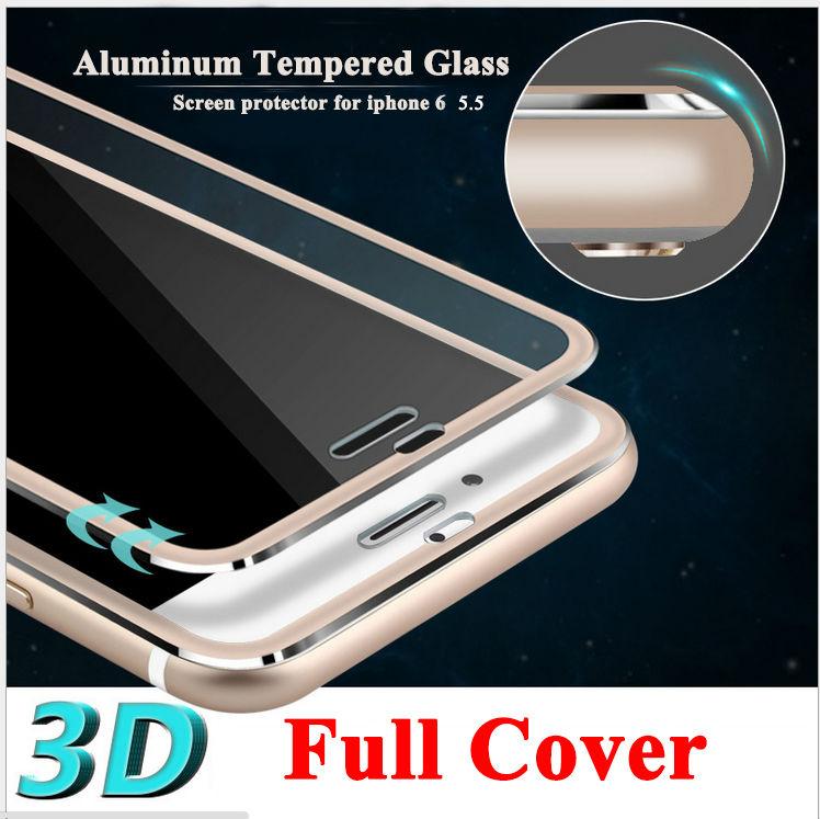 Полное покрытие 3D закаленное стекло для iPhone 6 Plus 6S ...
