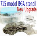 2016 New Upgrade 715/model BGA Stencil Bga Reballing Stencil Kit with direct heating Reballing station Replace 600/pcs