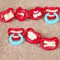 Chupeta silicone bebê mamilo engraçado Novidade Chupetas Manequim Bebê Mordedor Ortodôntico Mamilos Do Bebê ferramenta Dentição Da Criança Da Criança