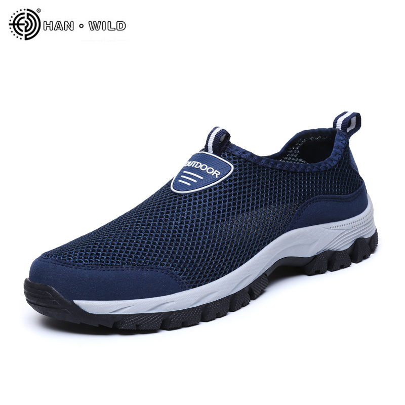 Men's Casual Shoes Breathable Slip On Mesh Shoes Men Classic Tenis Masculino Zapatos Hombre Sapatos Sneakers Water Loafers