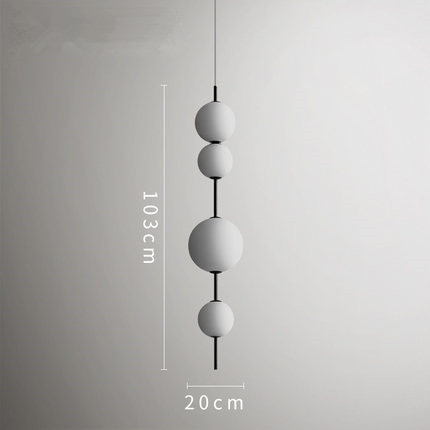 Image 3 - Modern LED Pendant Lamps Hanging Lamps Restaurant Gourd Pendant Lights Cafe Bar Bedroom Kitchen Dining Room Glass Deco Fixtures-in Pendant Lights from Lights & Lighting
