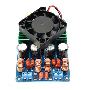 Image 5 - TC2001 STA516 klasy T wzmacniacz cyfrowy pokładzie Stereo 2x160W wzmacniacz hifi z wentylatorem lepiej niż TDA7498E TK2050 TDA8950 TPA3116 A3 002