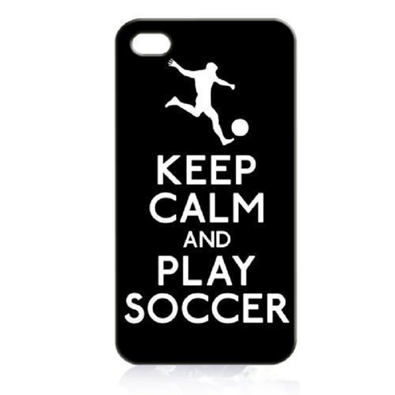 Keep Calm and Play Soccer Cover Case for Huawei Honor 6 7 8 Mate 7 8 9 Oppo R7 R9 R9s Plus