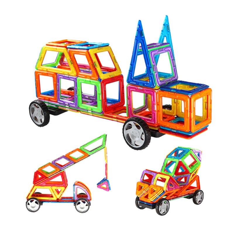 Best Magnetic Toys For Kids : Bd magnetic building blocks mini educational model build