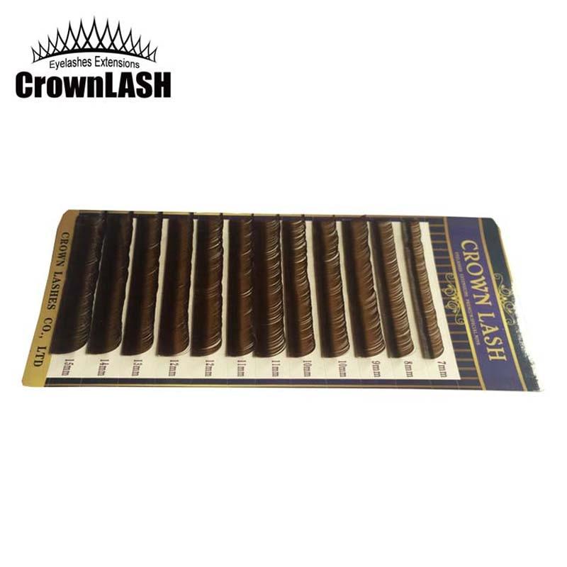 CrownLASH Καφέ Σοκολάτα B C D 0.10 7-15mm 3D - Μακιγιάζ - Φωτογραφία 2