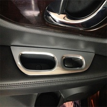 Для Nissan X-trail, pdf T32 2014 2015 2016 Автомобиль ABS Chrome внутренняя Дверь Стекло Панели Переключателя Крышка Отделка Рамка Литье 4 шт.