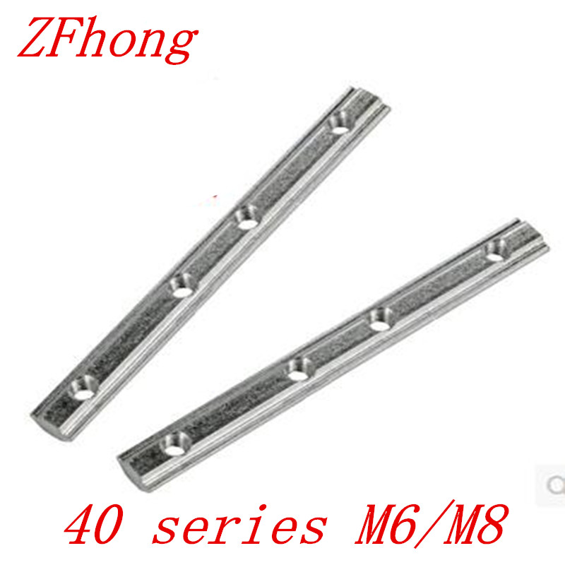 4pcs Straight Line Connector Joint Aluminum Profile 40