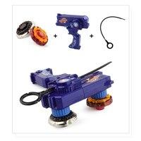 Bey blade металлические Фьюжн-игрушки для продажи спиннинговые Топы bay blade Набор игрушек, игрушечный гироскоп с двойными пусковыми установками, ...