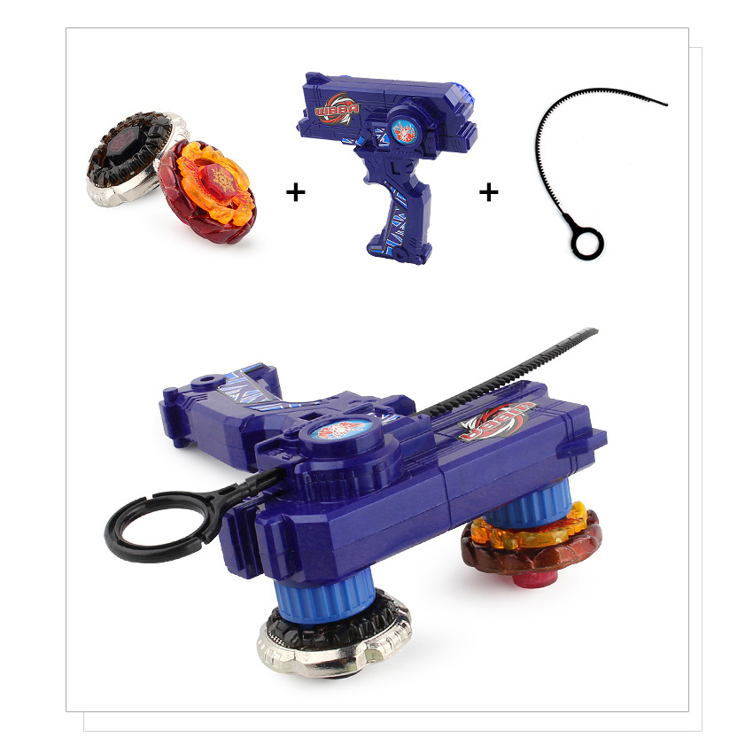 Bey blade Metal Fusion Toys For Sale Spinning Tops beyblade Toys Set ,gyroscope Toy with Dual Launchers,Hand Spinner Metal Tops