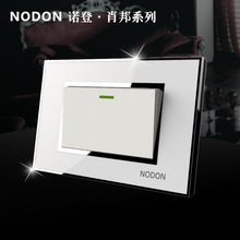 Norden 118 Small socket switch double a switch panel long single switch fluorescent