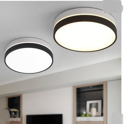 Round bedroom led lamp Nordic modern simple creative Ceiling Lights and romantic children's room aisle LED lamps ZL255 LU724194 noosion modern led ceiling lamp for bedroom room black and white color with crystal plafon techo iluminacion lustre de plafond