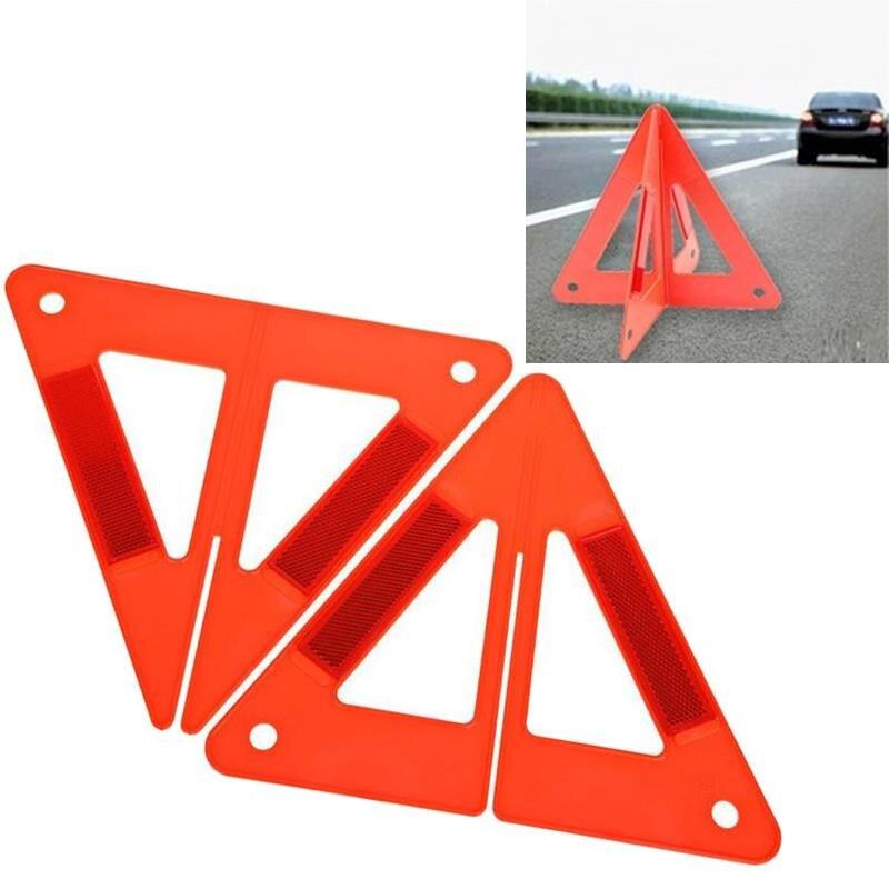 Vehemo 2 шт. складной автомобиль светоотражающие Предупреждение Треугольники Детская безопасность остановить пробоя вывеска чрезвычайных вс...