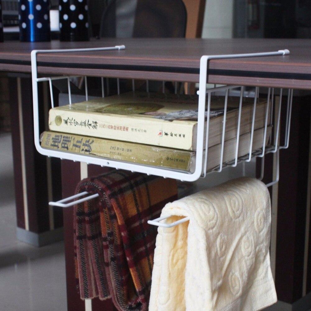 2 Colors Metal Iron Home Kitchen Storage Shelf Rack Mutifunctional Office Kitchen Bathroom Storage Shelves Organizer Hot Sale