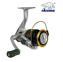 цена на OKUMA High Quality Fishing Reel Spinning Reel Gear 2000/3000 Series Ratio 5.0:1 Ball Bearing 6 Lure Reel Sea Fishing Tackle