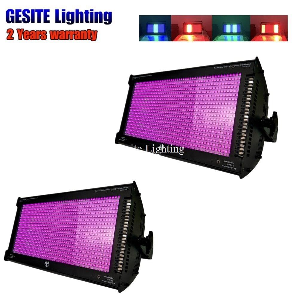 2pcs China suppliers SMD LEDs Super Bright 1000W White/RGB Disco light DMX Strobe Light