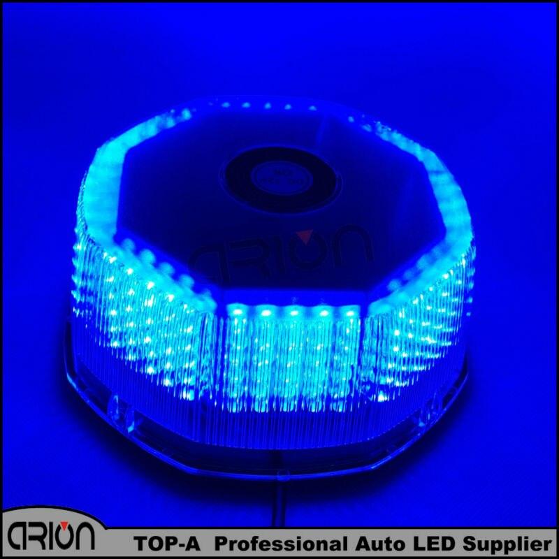 2016 Blue 240 LED 30W Car Truck Waterproof Magnetic Strobe Light Warning Lamp Beacon EMERGENCY Police Firemen Lights