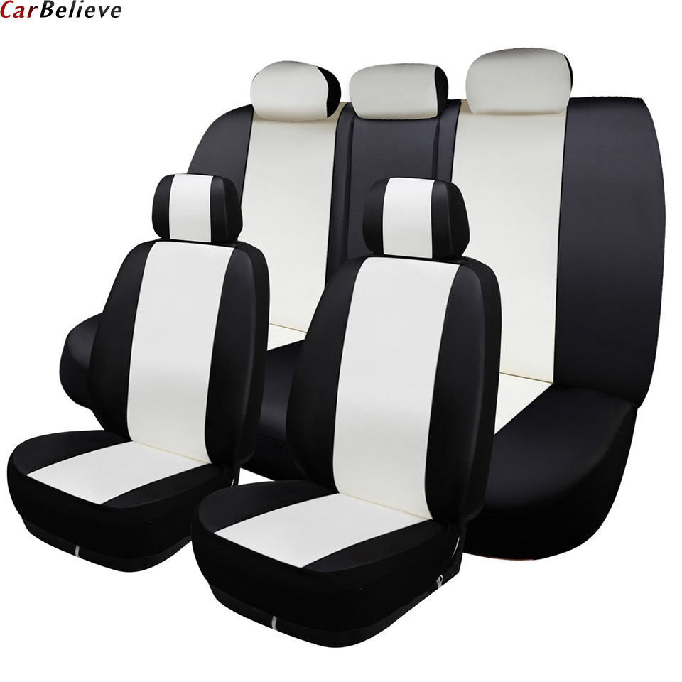 Car Believe car seat cover For skoda octavia a5 rs 2 a7 rs superb 2 3 kodiaq fabia 3 yeti accessories covers for vehicle seat shining wheat genuine leather steering wheel cover for skoda octavia superb 2012 fabia skoda octavia a 5 a5 2012 2013 yeti