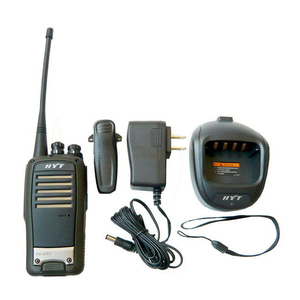 Image 3 - 2 وحدة HYT TC 620 5 واط المحمولة اتجاهين راديو مع بطارية ليثيوم أيون HYTERA TC620 UHF VHF طويلة المدى لاسلكي تخاطب