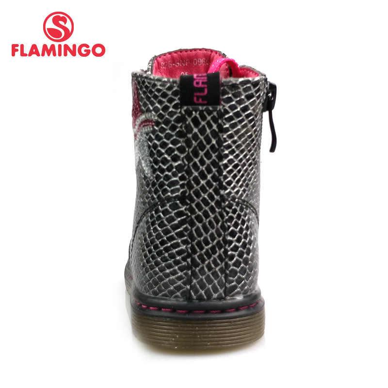 פלמינגו סתיו אתחול החלקה להתחמם ילדי שרוכים & Zip אתחול גודל 22-28 ילד לילדה משלוח חינם 82B-BNP-0959/0960