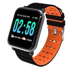 Smart Watch Women Men Waterproof Clock Heart Rate Monitor Fitness Tracker Blood Pressure Sport SmartWatch PK Q8 V6 S9 цены