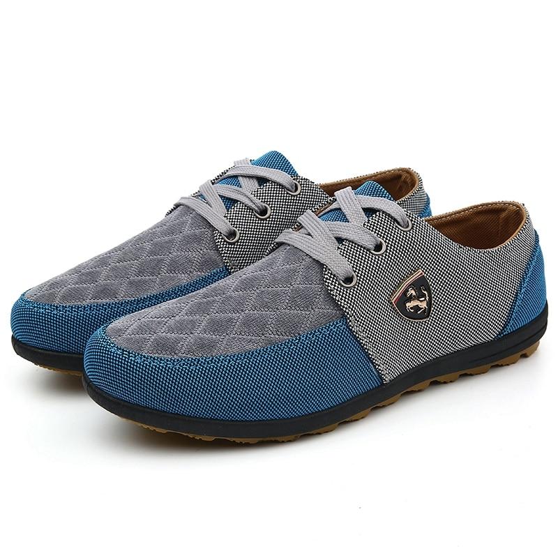 2016 mens Casual Shoes mens canvas shoes for men shoes men fashion Flats brand fashion Zapatos de hombre 6