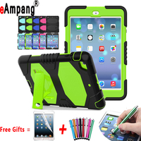 For IPad Mini 1 2 3 Cover Case Silicone Shockproof Three Layer Full Protector Tablet Accessories
