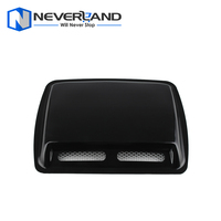 1 PCS Car Styling Stickers ABS Car Decorative Air Flow Intake Scoop Turbo Bonnet Vent Cover