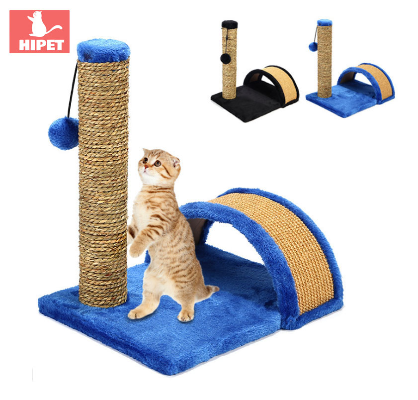 HIPET Cat Toys Sisal hemp Tree Climbing Frame for cats products with Ball Cat Scratch Board Hanging Toy