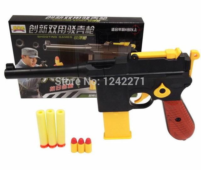 1pcs Classic Toys Mauser Pistol Children S Toy Guns Soft