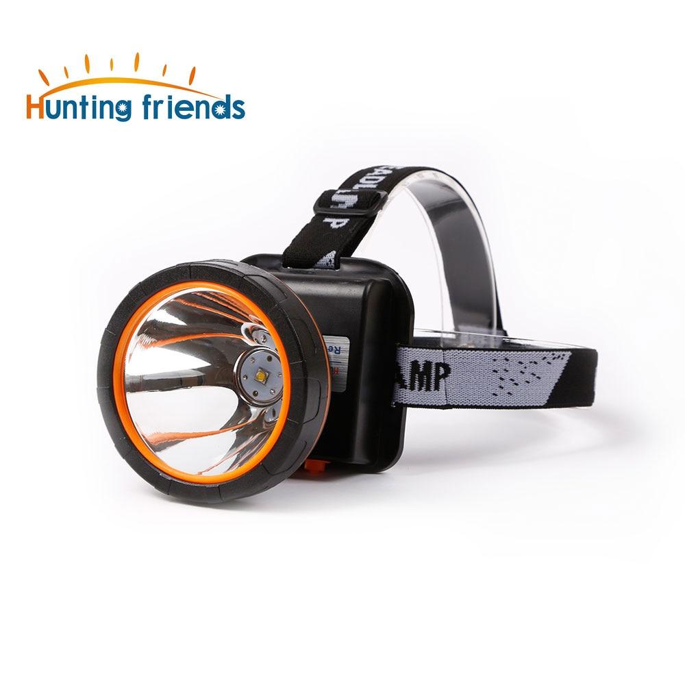 Супер яркий светодиодный налобный фонарь водостойкий Головной фонарь встроенный 3x18650 аккумуляторные батареи 2 режима света фара для наружн...
