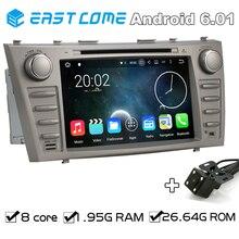 Octa core 2 DIN Android 6.01 автомобильный DVD Automotivo для Toyota Camry 2007 2008 2009 2010 2011 с Bluetooth Радио заднего вида Камера