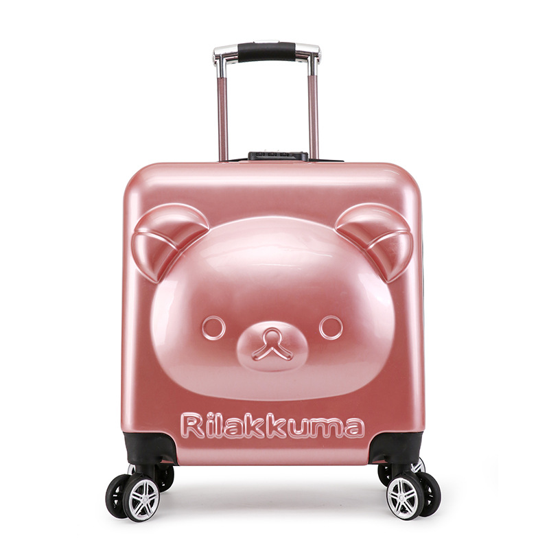 18/20inch PC+ABS girl cartoon Pull rod box trolley case 3D child Travel love luggage anime suitcase kids Boarding box with wheel 18 20inch pc abs girl cartoon pull rod box trolley case 3d child travel love luggage anime suitcase kids boarding box with wheel