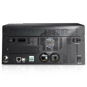 Image 4 - 태양 광 인버터 4000W 5Kva 80A MPPT 병렬 인버터 24V 220V 순수 사인파 인버터 충전기 60A 배터리 충전기