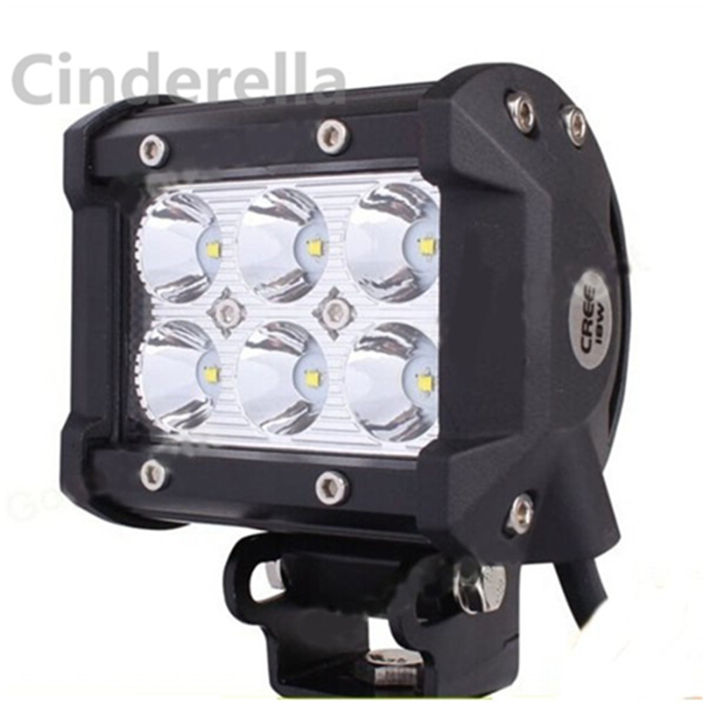 1 pcs LED Work Light for Tractor Boat Off Road Truck ATV FIT for CREE Tractor Boat Off Road Truck head light in Car Headlight Bulbs LED from Automobiles Motorcycles
