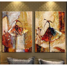 100% Pure Hand-painted Canvas Oil Painting Dancer No Stretched Home Decoraton Christmas Gifts