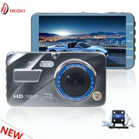 2018 HGDO New Car DVR Car Camera On Cam Dash Camera 4 0 Inch IPS Screen
