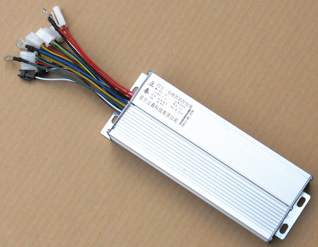 Free Shipping 800W 48V DC 15 mofset brushless motor controller E-bike electric bicycle speed control free shipping 1000w 48v dc 18 mofset