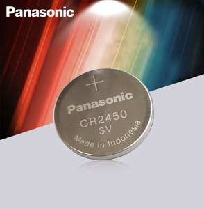 New Original Panasonic CR2450 CR 2450 3V Lithium Button Cell Battery Coin Batteries For Watches,clocks,hearing aids(China)