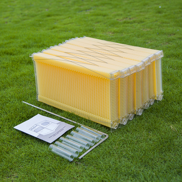 Automatic honey flow hive frames langstroth plastic beehive frame ...