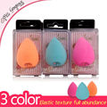 6PCS/Set Miss Gorgeous Beauty Makeup Sponge Blender Droplets Cosmetics Foundation Sponge For Makeup 3 Color Face Powder Puff