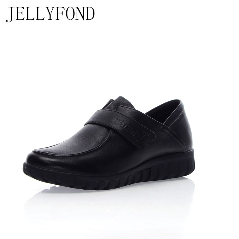 Designer 2018 Vintage Style Women Genuine Leather Shoes Moccasins Mother Loafers Cowhide Leisure Flats Female Driving Shoes women s genuine leather slip on loafers brand designer flats moccasins leisure espadrilles antiskid comfortable shoes for women