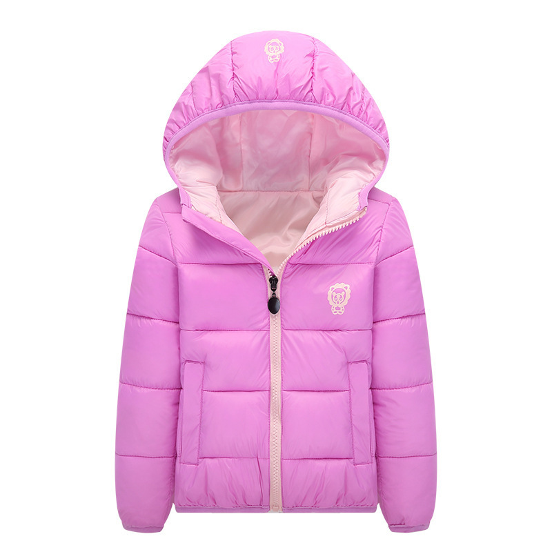 2016 Children Down Coat Winter Baby Boy Padded Jacket For Girls Parkas Outerwear Hooded Cotton-Padded Infant Overcoat Clothes 2017 new children baby winter cotton padded jacket toddler girls boys zipper nylon coat fashion outerwear kids parkas clothes