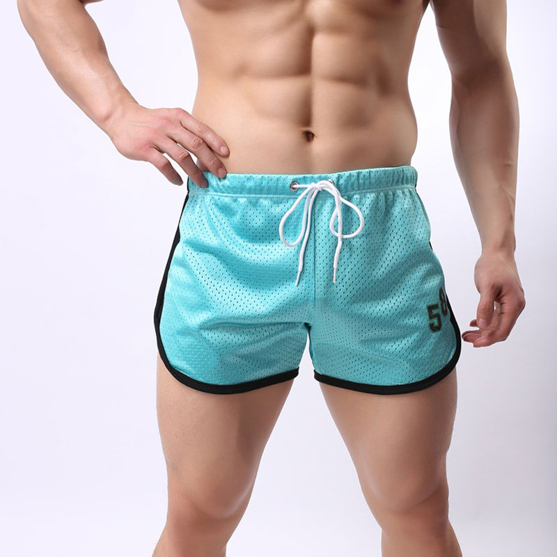 High Quality Men Quick-drying Short Casual Male Shorts Breathable Mesh Printed 58 Shorts ...