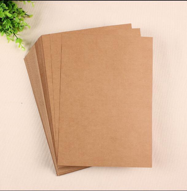 Коричневый картон для открыток
