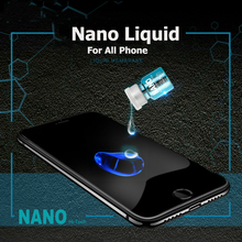 All Phone Universal NANO Liquid Screen Protector for IPhone X Oneplus 5T Invisible Full Cover Glass Film for Samsung S6 S7 S8 S9