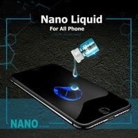 Protector de pantalla Universal NANO líquido para IPhone X Oneplus 5T  Protector de pantalla de cristal Invisible para Samsung S6 S7 S8 S9