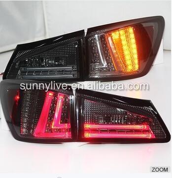 Для Lexus IS250 светодиодные задние фонари светодиодные задние 2006 12 Год Дым черный Цвет SN