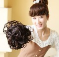 4 colors, high quality, Bun Hair Chignon, Synthetic Donut Roller Hairpieces, Hair Bun, 1pcs
